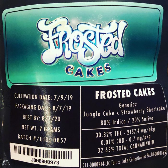 Frosted Cakes by @jungleboys JUNGLE BOYS WEED